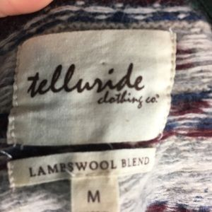 Telluride Clothing Company Sweaters - Telluride Clothing Co. Lambswool Cardigan